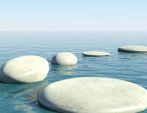 Mach den ersten Schritt – nicht mehr und nicht weniger – und der nächste wird sich zeigen