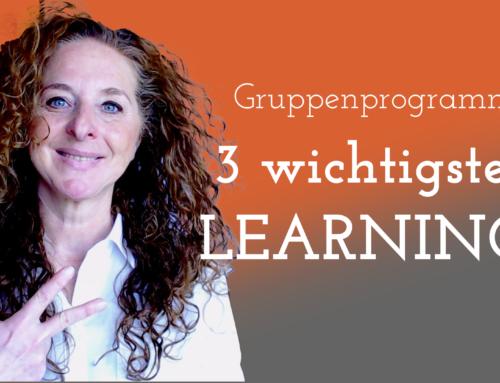 Gruppenprogramme: Meine 3 wichtigsten Learnings